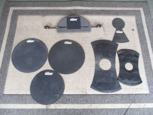 Set Of Sound Off Muting Pads For Drums & Cymbals: Bass, Toms, Snare, Cymbals!