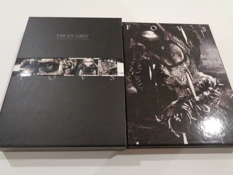 Dir en grey - Feast of V Senses fanclub only dvd RARE jrock
