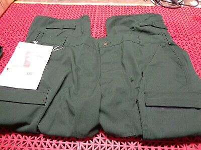 Lion Apparel 3524 Wildland Fire Fighting Protective Spruce Green Pant 4xl-s New
