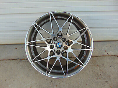 2017 BMW M3 COMPETITION WHEELS ZCP COMP PACKAGE 666M FRONT 9X20 M4 2015-2018 OEM