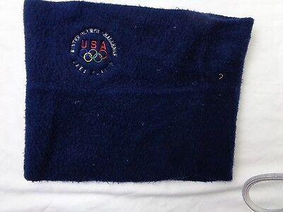 Vintage Winter Olympic Challenge Lake Placid Headwrap Ear Warmer