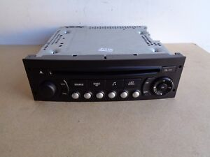Peugeot 207 RD4 Radio Stereo CD MP3 Player Bluetooth Compatible 2006-2014