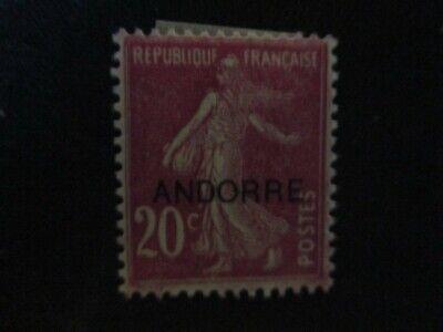 Andorra #29 Mint Never Hinged WDWPhilatelic (I7M1)