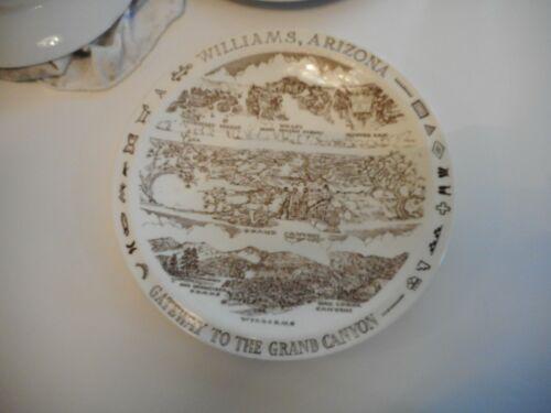 WILLIAMS ARIZONA Vintage Vernon Kilns Souvenir Plate USA MINT