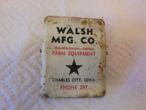 metal paper clip walsh manufacturing charles city farm equipment #2