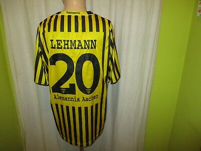 Alemannia Aachen Jako Heim Trikot 2008/09 + Nr.20 Lehmann + Signiert Gr.XL TOP image