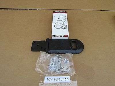 New Master 7 17.7 Cm. Solid Iron High Security Hasp Commercial Use.