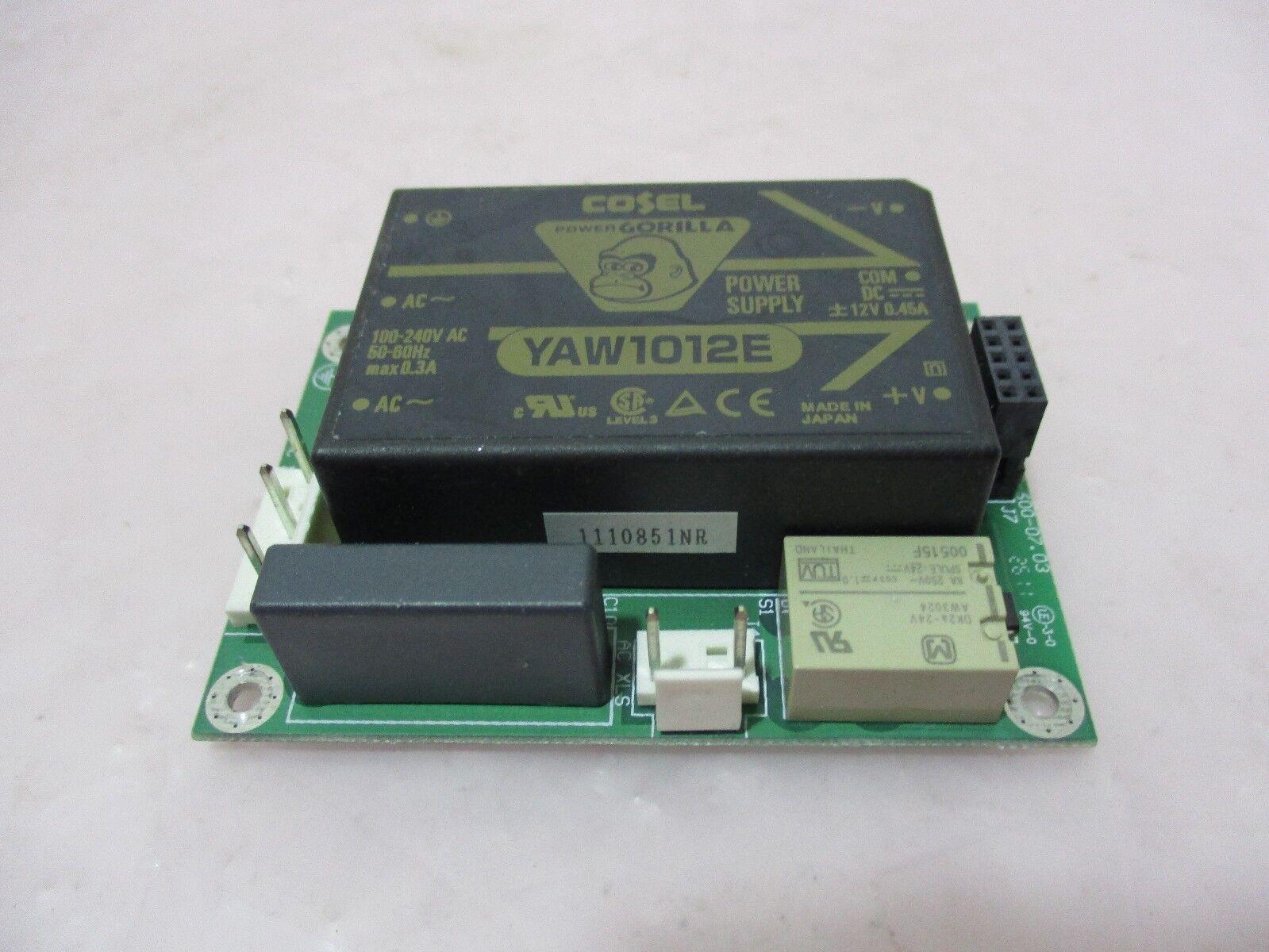 J.A. Woollam SSB-600.07.03 PCB Board W/ Cosel YAW1012E Power Supply, 420567