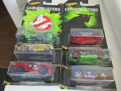 HOTWHEELS 2016  GHOSTBUSTERS AUDACIOUS SET OF 6