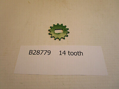John Deere Part B28789 One 14 Tooth Sprocket For 71 Planters