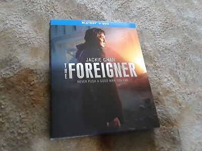 New Jackie Chan The Foreigner Blu Ray Dvd 2 Disc Set   Slipcover Fast Shipping