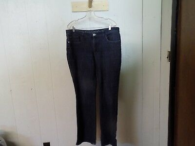 CHRISTOPHER & BANKS Women's Modern Fit Blue Jeans ( Size 14 ) - Christopher Banks Moden
