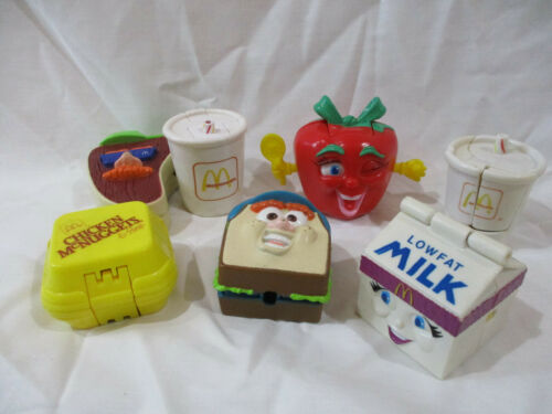 Vintage McDonalds Transformer/Changeables Happy Meal Toys Lot 1990