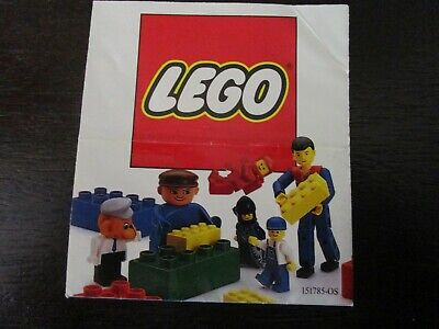 Vintage LEGO - Classic Space Castle and Town Catalog Pamphlet Flier - RARE