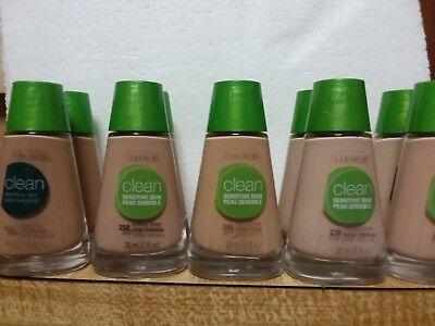 Lot of 2 CoverGirl Clean Makeup Liquid Foundation  You choose shade Cover Girl Clean Makeup Foundation
