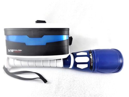 VR Real Virtual Reality Feel Baseball w/Headset, Bat, for iPhone and Android