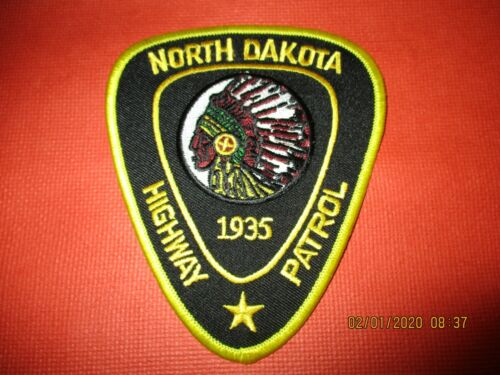 Collectible North Dakota Police Patch,State Highway Patrol,New