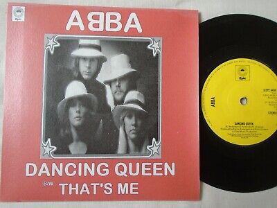 ABBA - DANCING QUEEN / THAT'S ME 1976 UK CUSTOM SLEEVE EX