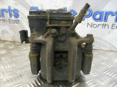 2013 BMW F10 CALIPER & CARRIER DRIVER SIDE REAR AUTO *NO PADS* 32349660 #24282