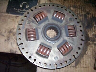 Vintage Oliver 1850 Gas Tractor -flywheel Pto Shaft Drive Plate - 1969
