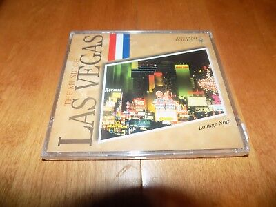 THE MUSIC OF LAS VEGAS Lounge Noir Sin City Song Classic Distant Winds CD NEW