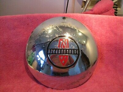 DOG DISH POVERTY VINTAGE HUBCAP 10 INCH FREE SHIPPING
