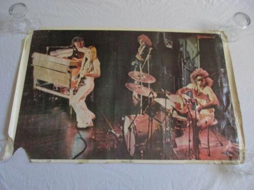 Vintage Grand Funk Railroad Poster Rock Band 1970