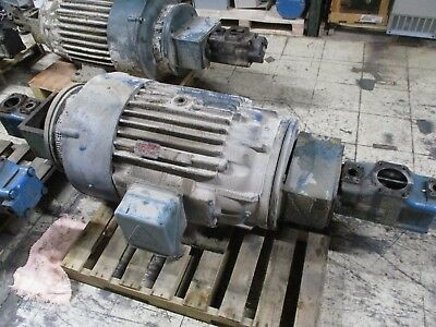 Vickers Hydraulic Vane Pumps W Motor 4535v60a38866c1018c 45v60a1c0180 Used