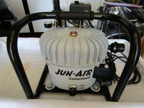 JUN AIR AIR COMPRESSOR MODEL 6--4 120 VOLT EXCELLENT CONDITION