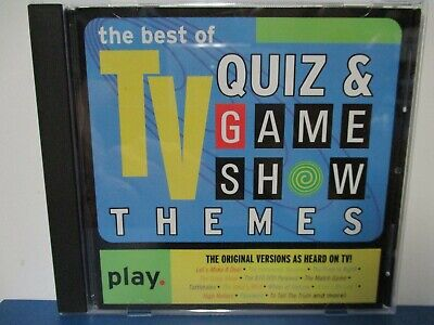 THE BEST OF TV QUIZ & GAME SHOW THEMES - CD - MINT condition -