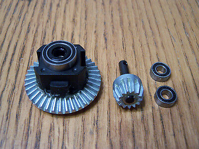Locker Front Rear (Axial Wraith Front Rear AR60 Locker Posi Differential Bevel Gear Set Ring Pinion )