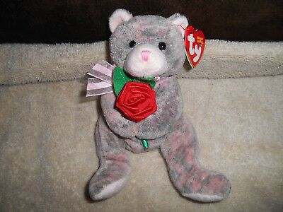 MWMT Ty Beanie Baby Grandfather Bear Internet Exclusive 2004