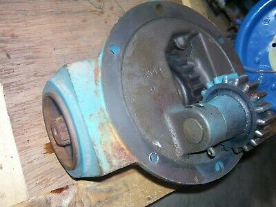 Vintage Fordson Major Diesel Tractor -pto Drive Gear Box -1954