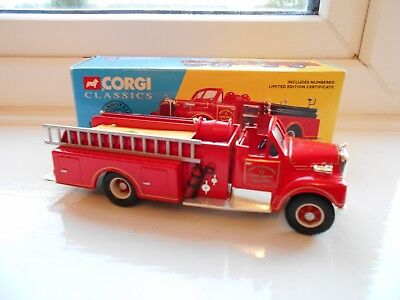 Corgi Fire Engine Model.