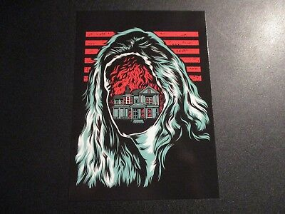 ROCKETS ARE Red 5X7 Postcard MOLLY VS THE ZOMBIE poster print gaslight anthem