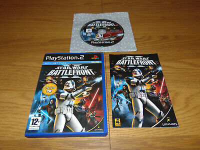 Star Wars Battlefront II 2 (Sony Playstation 2 PS2 2005) PAL