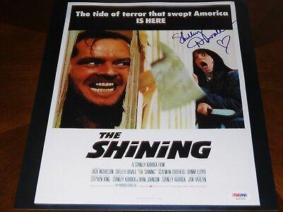 Shelley Duvall Signed 11X14 The Shining Photo Auto Psa Dna Coa Free Blu Ray