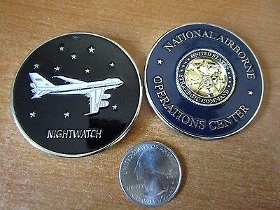National Airborne Operations Center Nightwatch Potus Naoc E 4B Challenge Coin