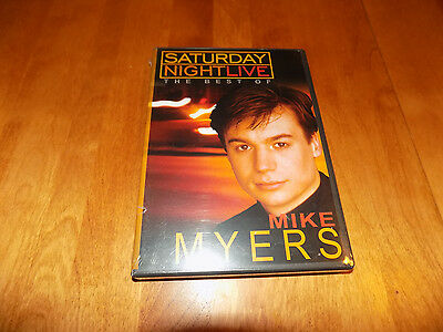 SATURDAY NIGHT LIVE THE BEST OF MIKE MYERS SNL Comedy TV Classic DVD (Best Saturday Night Tv Shows)