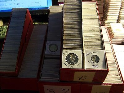 10 Proof Coin Lot 1 No Pennies From  Hoard Of Boxes From An Elderly Collector