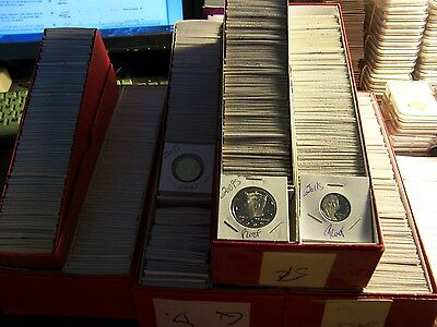 10 PROOF COIN LOT#1-NO PENNIES-FROM  HOARD OF BOXES FROM AN ELDERLY COLLECTOR