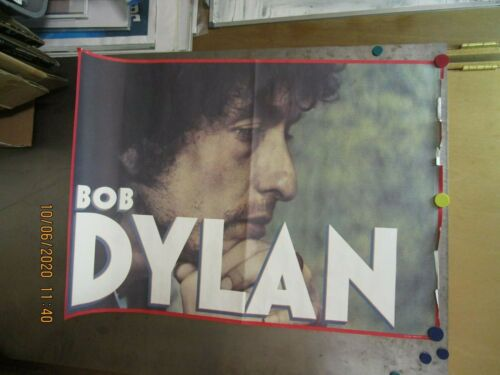 BOB DYLAN VINTAGE Shot Of Love Era 1981 Large Promo Poster Pre-Owned CBS Records