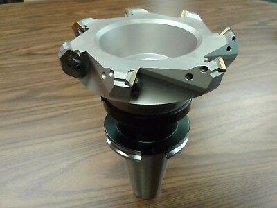 6 45 Degree Indexable Face Shell Mill Face Milling Cutter W Sean42aftn Cat50