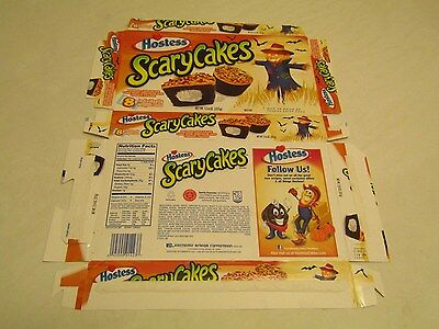 Hostess  Interstate Brands  Scary Cakes Empty Collectible Box