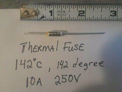 Thermal Fuse Cutoff At 142c Degrees10a 250v
