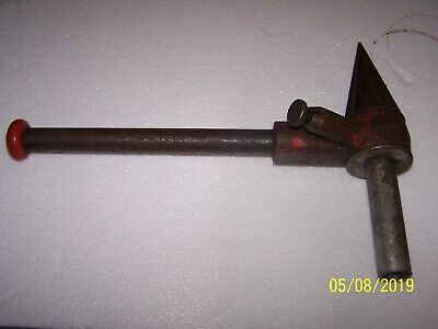 Antique Vintage Toledo Hand Pipe Reamer With 9 Handle