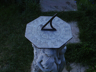 Reduced Garden Sun Dial Bronze