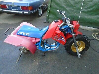 HONDA ATC 250R (1985) FRAME/PARTS US IMPORT NO RESERVE! IDEAL RARE PROJECT BASE!