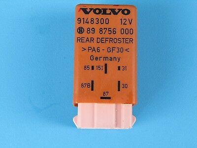 1995-1997 Volvo 850 OEM rear defrost relay pn# 9148300