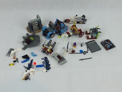 LEGO Halloween Mummy, Skeleton Horse Carriage, Car, Spiderweb](Halloween Skeleton Horse)